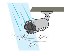 防水・防塵 イメージ図